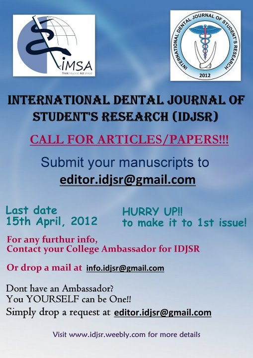 Oral surgery research paper